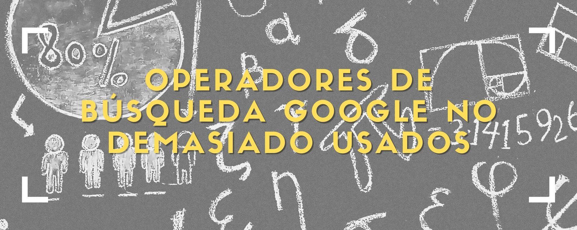 operadores Google