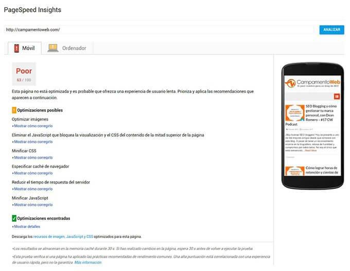 Cómo medir velocidad en Wordpress: Pingdom, GTmetrix y PageSpeed Insights