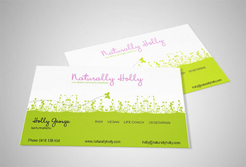 tarjeta Natural Holly