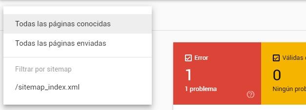 Cómo solucionar los errores de cobertura en Google Search Console