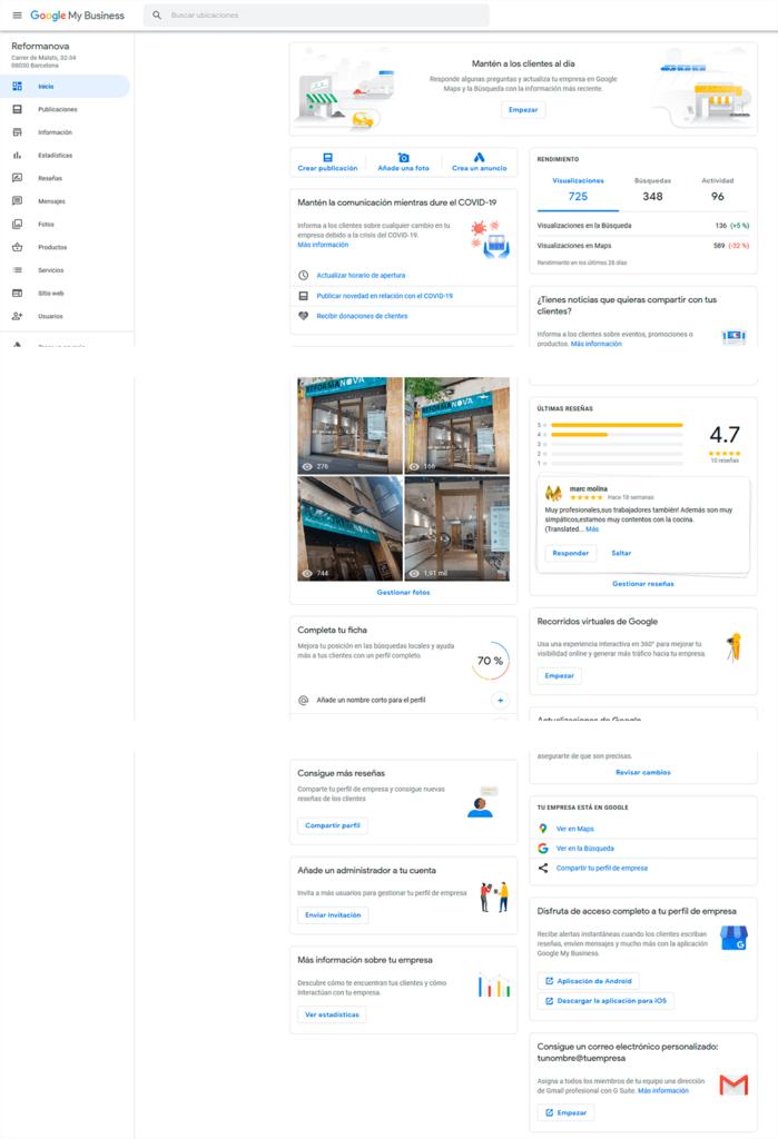 Guía para configurar Google My Business para negocios relacionados con el sector servicios