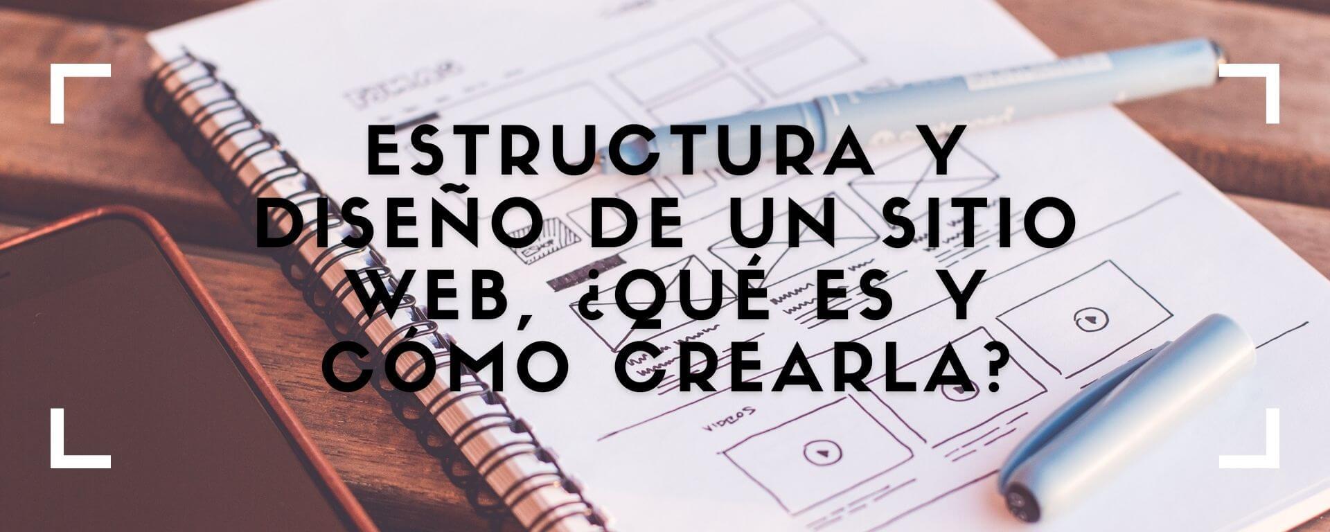 Estructura y diseño de un sitio web, ¿qué es y cómo crearla?