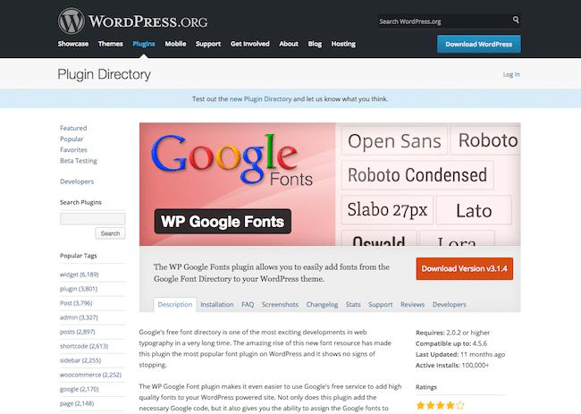 Los mejores plugins WordPress para cambiar fuentes con facilidad